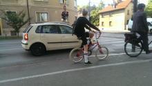 Promet v Ljubljani (foto: Dan Podjed)